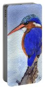 Malachite Kingfisher Portable Battery Charger