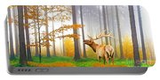 Male Elk Bugling Portable Battery Charger