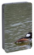 Male Hooded Mergansers Portable Battery Charger
