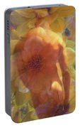 Male Flowers Portable Battery Charger