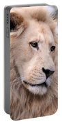 Male White Lion ... Thabo Portable Battery Charger