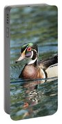 Male Wood Duck Portable Battery Charger
