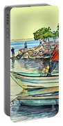 Malecon Fishermen Portable Battery Charger