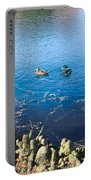 Mallard And Cypress Knees Portable Battery Charger