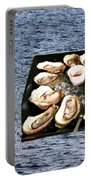 Malpeque Oyster Poster Portable Battery Charger