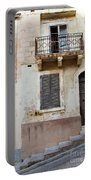 Maltese House On A Steep Street Portable Battery Charger