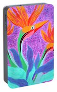 Mama And Her Chicks By Ken Tesoriere Portable Battery Charger