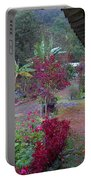 Mamas Yard In The Rain Portable Battery Charger