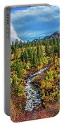 Mammoth Lakes Autumn Falls Portable Battery Charger