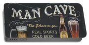 Man Cave Chalkboard Sign Portable Battery Charger