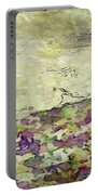 Man In The Lansdscape By Mary Bassett Portable Battery Charger