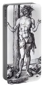 Man Of Sorrows With Hands Raised 1500 Portable Battery Charger