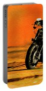 Man On Bike Portable Battery Charger
