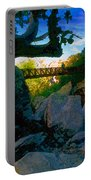 Man On The Bridge Portable Battery Charger