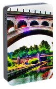 Manayunk Canal And Bridge Portable Battery Charger