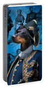 Manchester Terrier Art Canvas Print - Duc Portable Battery Charger