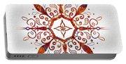 Mandala Art 2 Portable Battery Charger