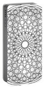 Mandala No 3 Portable Battery Charger