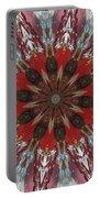 Mandala Of Glass Portable Battery Charger