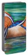 Mandarin Duck Portable Battery Charger