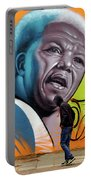 Mandela Watching Portable Battery Charger