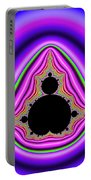 Mandelbrot Set Bold And Trippy Portable Battery Charger
