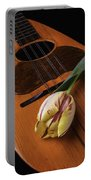 Mandolin And Tulip Portable Battery Charger