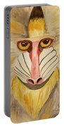Mandrill Monkey Portable Battery Charger