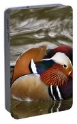 Mandrin Duck Posing Portable Battery Charger