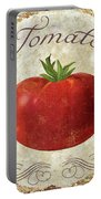 Mangia Tomato Portable Battery Charger