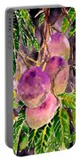 Mango Tree Fruit Portable Battery Charger