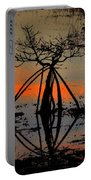 Mangrove Silhouette Portable Battery Charger