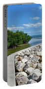 Mangroves Rocks And Ocean Portable Battery Charger