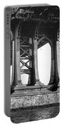 Manhattan Bridge, Afternoon Portable Battery Charger by Gary Heller