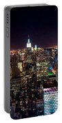 Manhattan By Night Portable Battery Charger