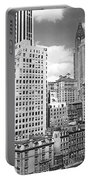 Manhattan From Madison Avenue Portable Battery Charger