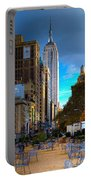 Manhattan Morning Portable Battery Charger