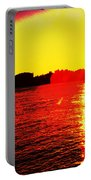 Manhattan Sunrise  Portable Battery Charger