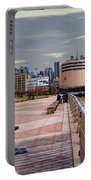 Manhattan West Side Panorama Portable Battery Charger