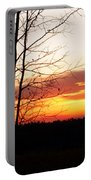Manitoba Sunset Portable Battery Charger