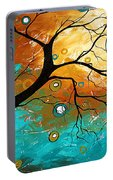 Many Moons Ago By Madart Portable Battery Charger