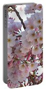 Many Pink Blossoms Portable Battery Charger