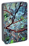 Manzanita Abstract Portable Battery Charger