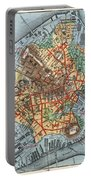 Map: Boston, C1880 Portable Battery Charger
