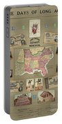 Map: Confederate States Portable Battery Charger