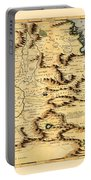 Map Of Africa 1690 Portable Battery Charger