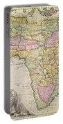 Map Of Africa Portable Battery Charger