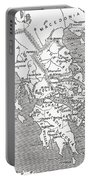 Map Of Ancient Greece Portable Battery Charger