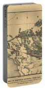 Map Of Arizona 1857 Portable Battery Charger