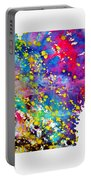 Map Of Arkansas-colorful Portable Battery Charger